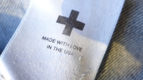 The details, like this tag inside, makes these jeans so perfect