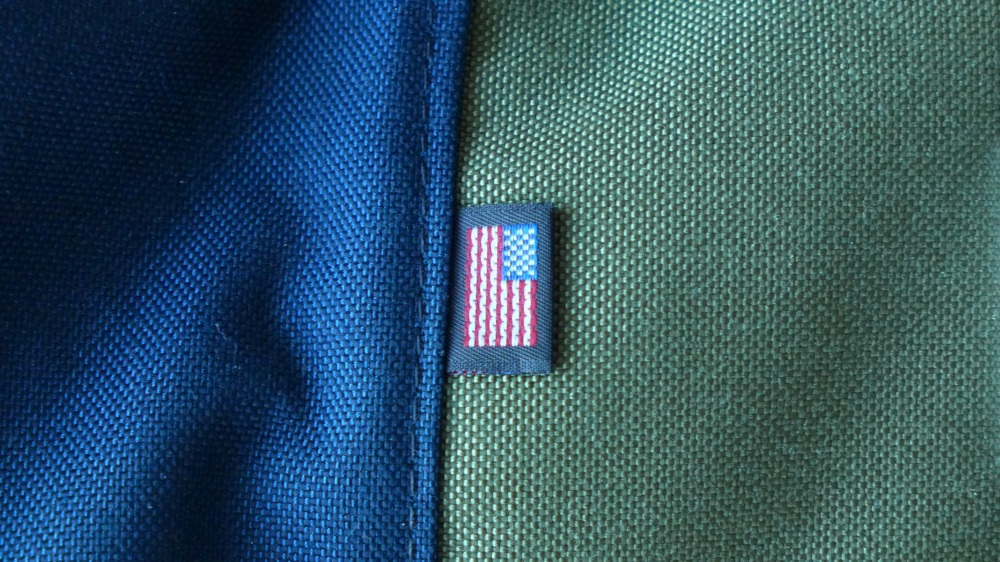 Made proudly in the USA, stitched onto every item
