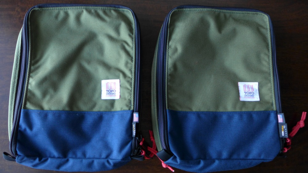 The Pack Bags - These will keep your shirts, tees and other fewer things in order
